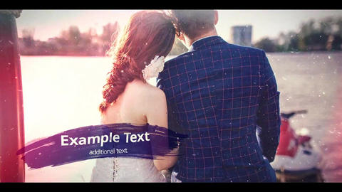 Wedding Ink Slideshow After Effects Template