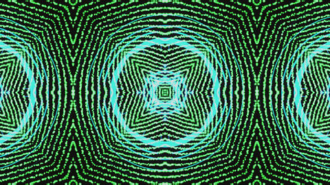 Ultra Music Festival Kaleidoscope box background Hypnotic box stage visual loop Live Action