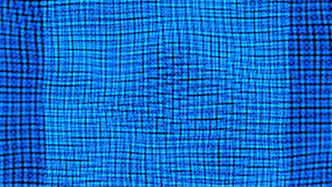 Rectangle pattern smooth moving background .Blue square motion video Live Action