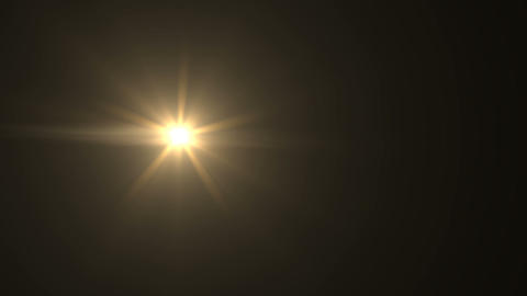 abstract of sun with flare. natural background with lights and sunshine HD video Live Action
