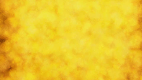 Abstract firee background motion video.Yellow smoke background motion Animation