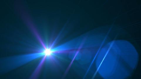 Abstract lens flare light over black background.sun burst on black background motion video.cross Footage