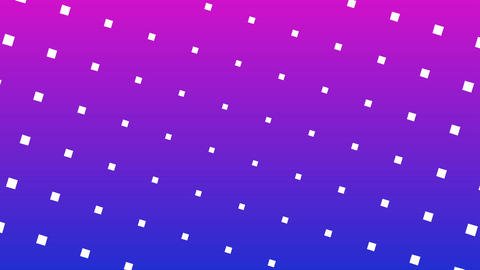 Colorful Halftone dots pattern rotation moving video Animation