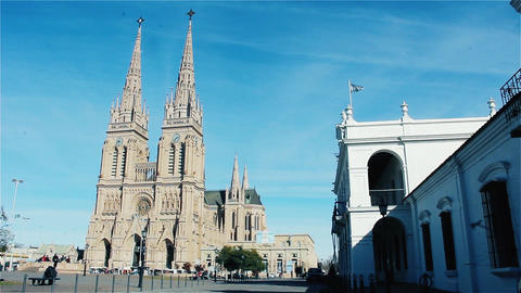 Basilica Of Our Lady Of Lujan, In Buenos Aires (Argentina) Live Action