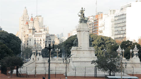 Congressional Plaza, In Buenos Aires (Argentina) Live Action
