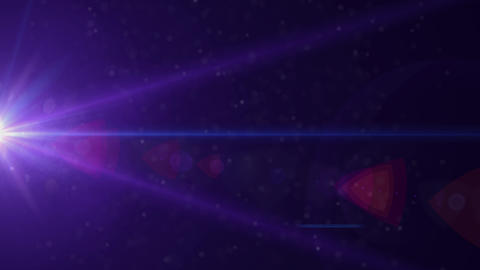 anamorphic lens flare 3840x2160 4K, lights background Footage