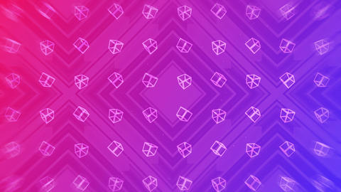 Pink and purple. Modern gradient for business design. Abstract rainbow background in pastel colorful CG動画