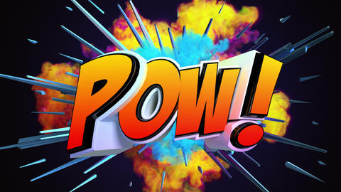 Amazing explosion emoticon animation Videos animados