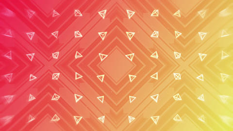 Red and yellow. Modern gradient for business design. Abstract rainbow background in pastel colorful CG動画
