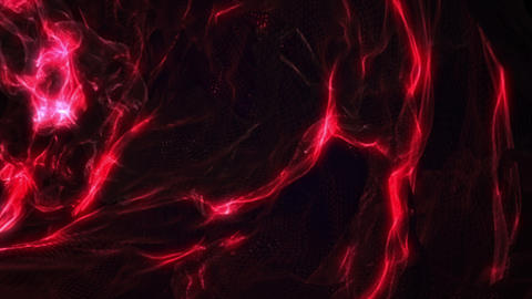 Dark red liquid wavy fractal video animation Animation