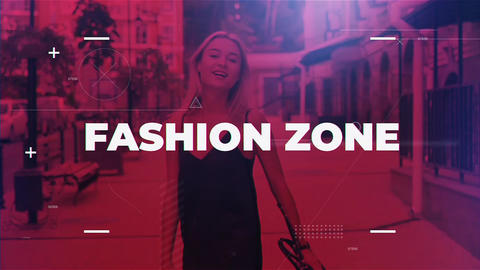 Fashion Zone After Effects Template