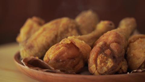Rotation original recipe fried chicken Live Action