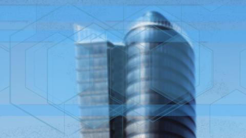 Business Background. City and Corporate, High Tech,…, Banco de Videos Animados