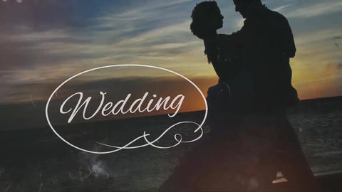 Wedding Stylish Brush Slideshow (After effects cs6 template) After Effectsテンプレート