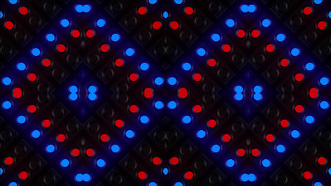 Red-Blue Light Effects Animation