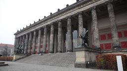 Altes Museum on the museum island in berlin Footage