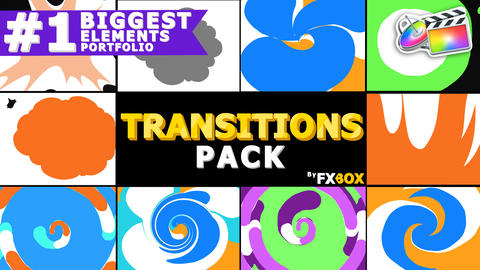 Funny Transitions g1 Apple Motion Template