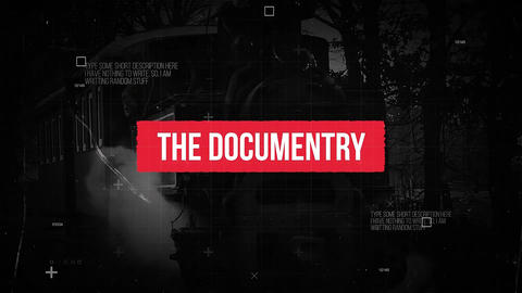The Documentry Premiere Pro Template