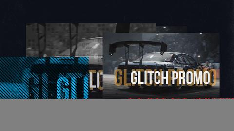 Glitch Sport Opener 8K Premiere Proテンプレート