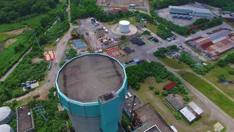 Shoreham Nuclear Power Plant, Decommissioned and... Stock Video Footage