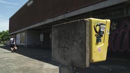 Payphone Box and Sidewalk Footage