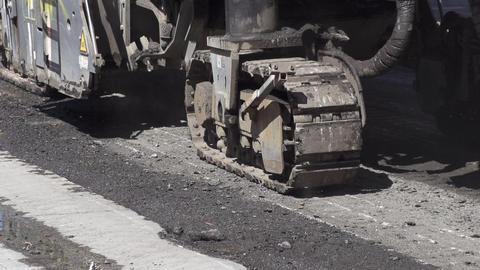 Road Construction Slow Motion Archivo
