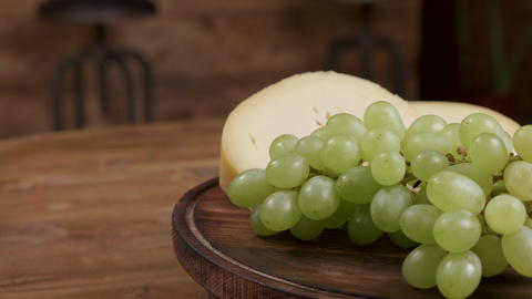 Cheese and grapes minimalist concept ライブ動画
