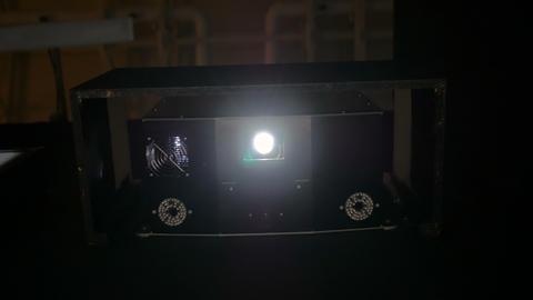 Digital film projector Live Action