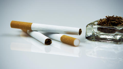 Cigarettes and tobacco Footage