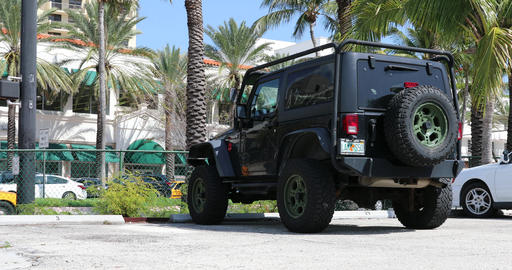 Black Jeep Wrangler Live Action