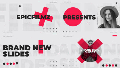 Dynamic Slides Opener After Effects Template