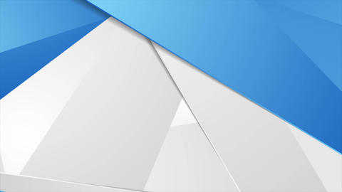 Abstract tech corporate polygonal motion design Animation