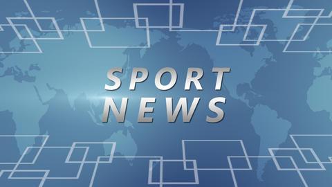 Sport News Clip Animation