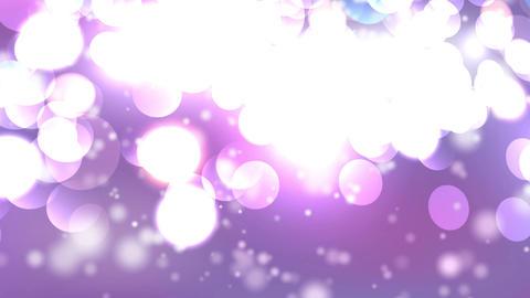 delicate pink yellow circle bokeh lights Animation
