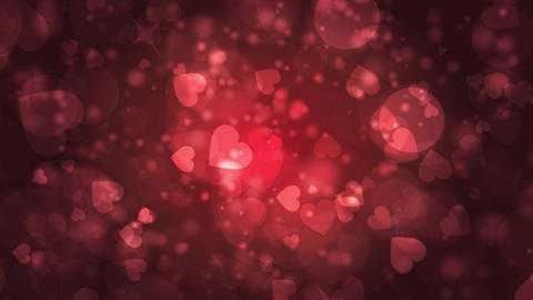 abstract dark red background with bokeh defocused lights Animation