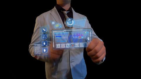 Futuristic screen Archivo