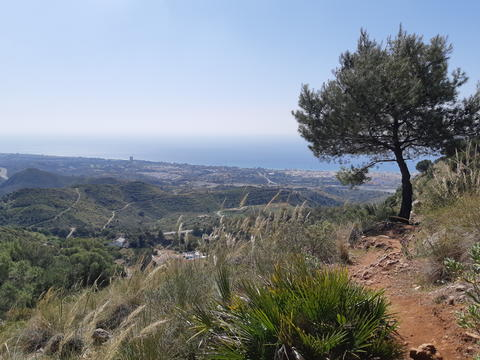 Walking Trail, Rio Verde, Marbella & Istan, Costa del Sol, Andalucia, Spain Photo
