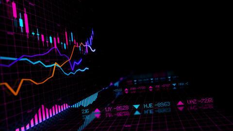 Stock Market Data Figures Animation