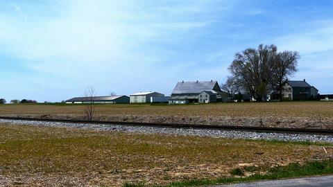 Amish Turkey Farm Footage