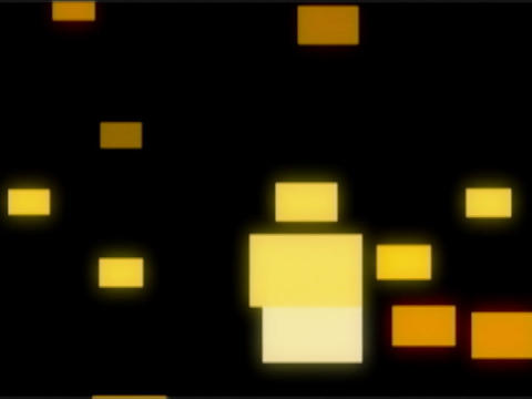 Yellow Squares Pulse Animation