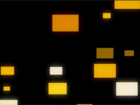 Yellow Squares Pulse Stock Video Footage