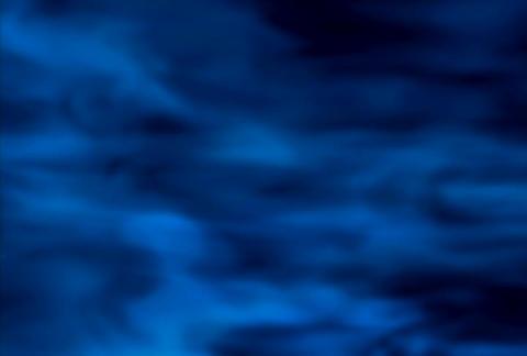 Blue Smoke layered(L) Stock Video Footage