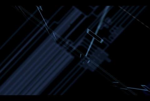 Squares ana(L) vdo Comp 1 Stock Video Footage