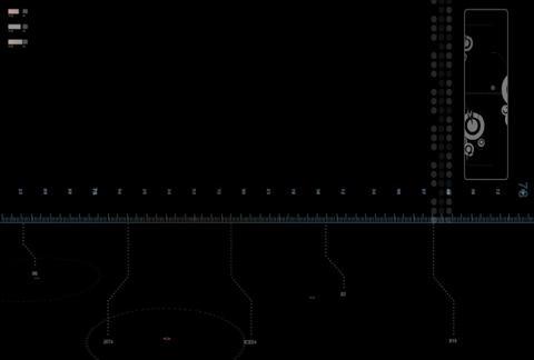 tech ruler (L) 2 Stock Video Footage