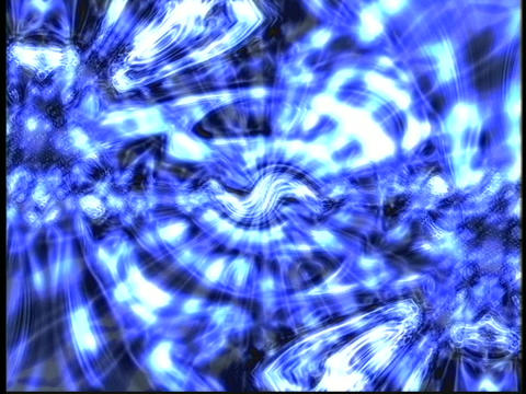 Blue Glob Mandala Stock Video Footage
