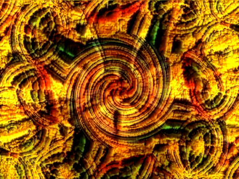 Mandala fire extrude Stock Video Footage
