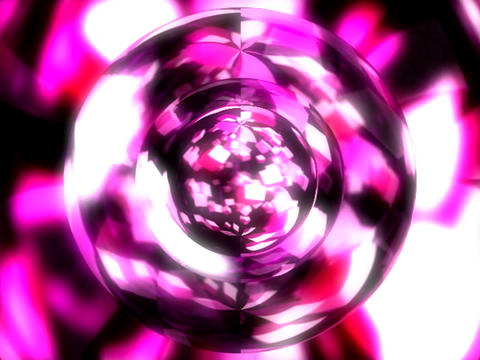 orb cube flock circular Stock Video Footage