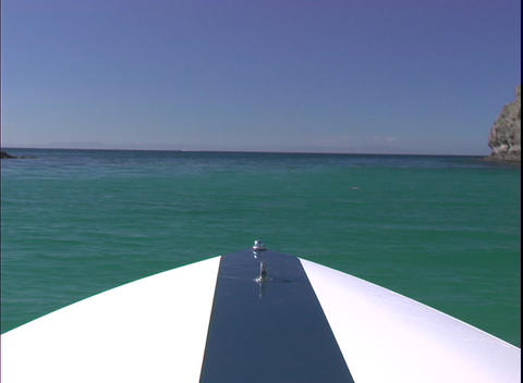 BoatingAtSea1 Stock Video Footage