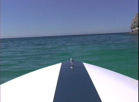 BoatingAtSea1 Stock Video Footage