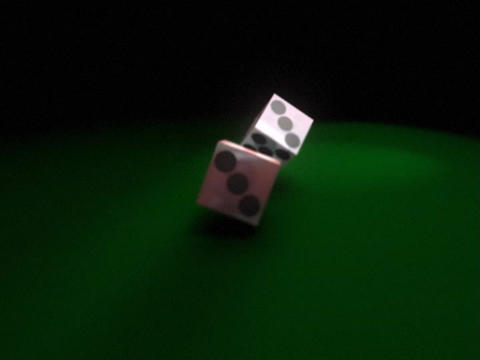 Dice Roll 1 Stock Video Footage